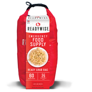 Ready Wise 84 Srv Breakfast & Entrée Grab&Go Food Kit (RW01-184)[product_sku], MySurvivalPrep.com