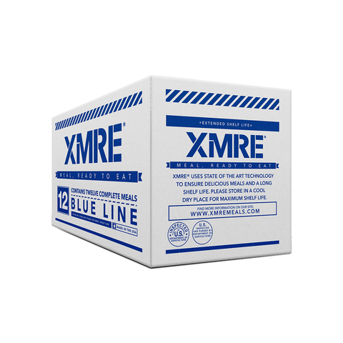 Image of XMRE, XMRE MRE Meal Ready to Eat XMRE BLUE LINE - CASE OF 12 FRH, [product_sku], MySurvivalPrep.com