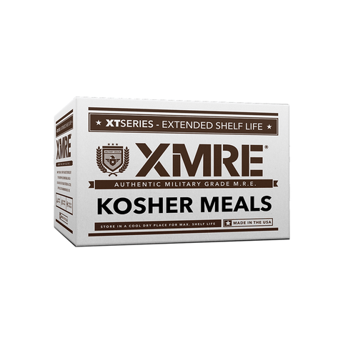 XMRE, XMRE MRE Meal Ready to Eat KOSHER MRES CASE OF 12 FRH, [product_sku], MySurvivalPrep.com