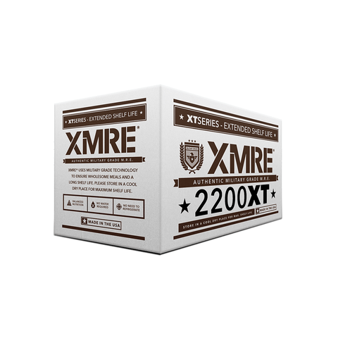 XMRE, XMRE MRE Meal Ready to Eat XMRE 2200XT 24 HR - CASE OF 6 MEALS FRH, [product_sku], MySurvivalPrep.com