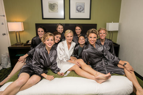 Platinum Bridesmaid Robes