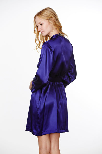 Plain Satin Robe