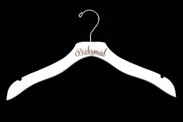 Bridal Party Wood Hangers