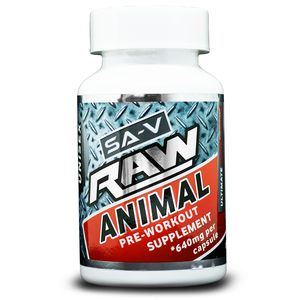 Why You Need SA Vitamins RAW Animal Pre-Workout