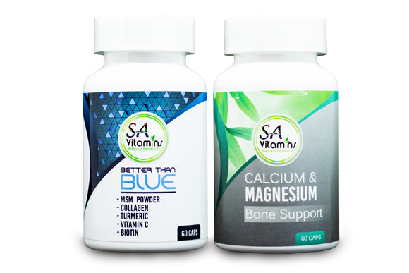 Better Than Blue 60 Caps & Calcium Magnesium Capsules 60