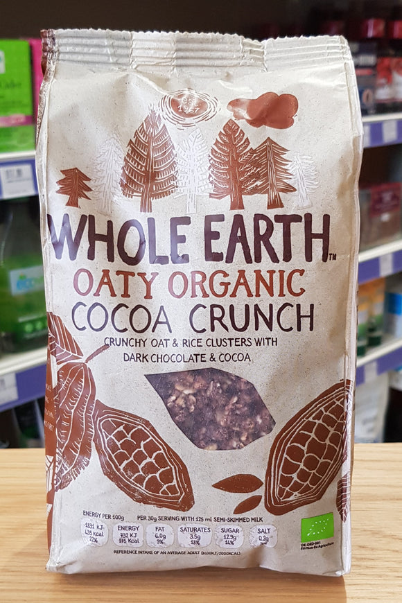 Whole Earth Oaty Organic Cocoa Crunch 375g