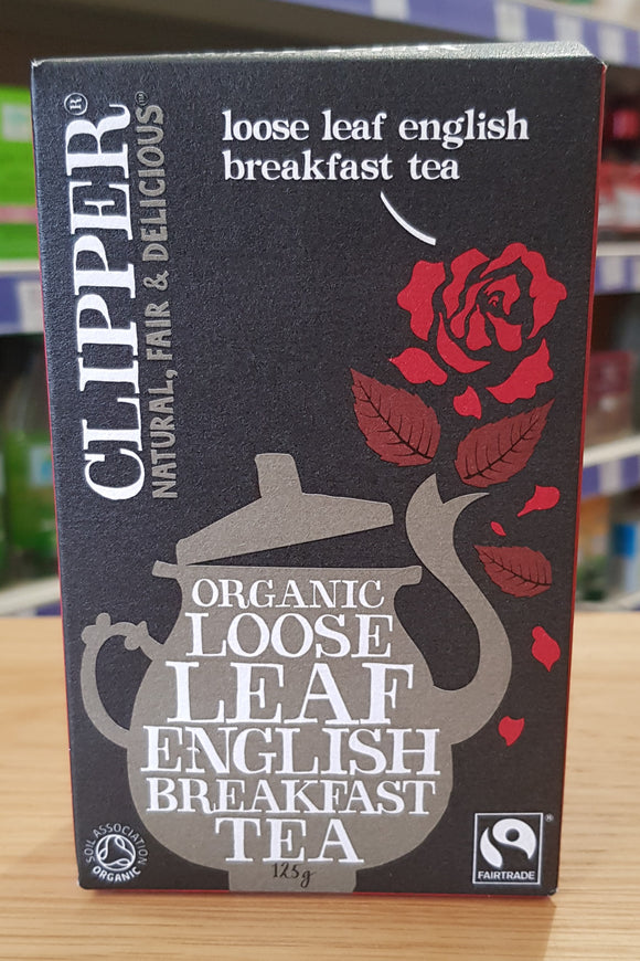 Clipper Organic Loose-Leaf English Breakfast Tea 125g