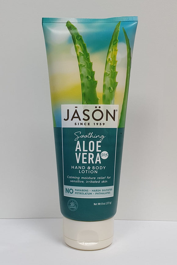 Jason Soothing Aloe Vera 84% Hand & Body Lotion 227g
