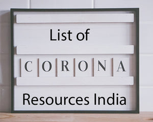 List of Covid Emergency Resources: India
