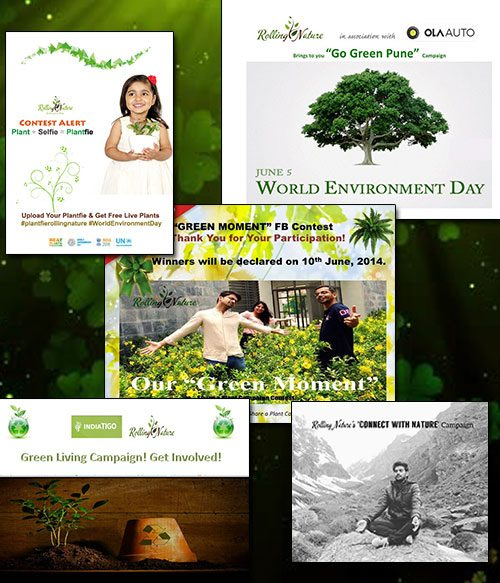 Day, World, Environment, Campaign, Rolling Nature, Initiative, Earth, Plants, Pune, India, Earth, Vandana, Chaudhary, Sajin, Kumar, Tata, Free, Plant Drive, Contest, Breathe, Fresh, Indoors, Indoor, House, Gifting, Action