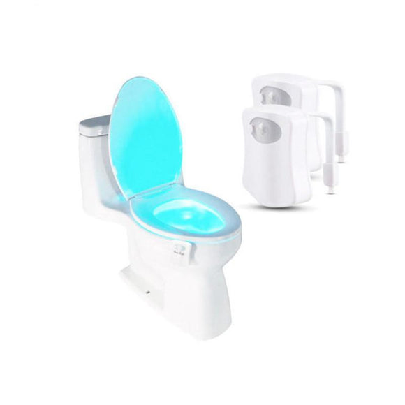 Automatic Toilet Seat LED Lamp