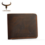 men wallets genuine leather