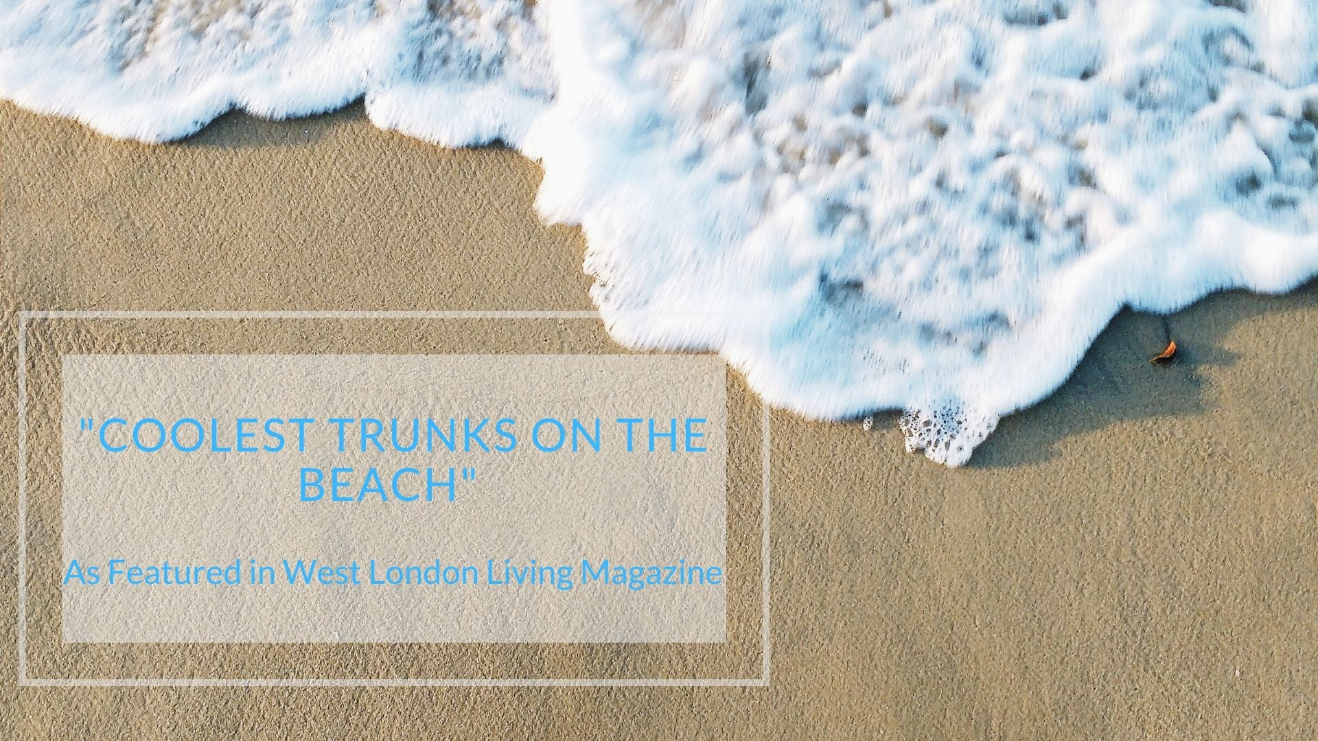 Bold & Bright Stylish Swimwear as featured in West London Living