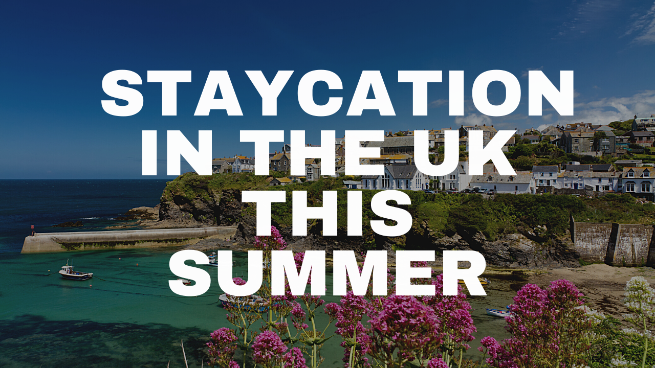 Staycations in the UK are looking good right now.