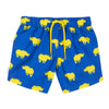 Boys Rhino Blue and Yellow Swim Shorts