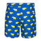 Blue and yellow tailored rhino men's swim shorts trunks swimwear