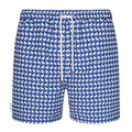 French Bulldog Small Print Swim Shorts