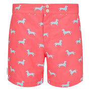 Tailored Dachshund men's swim shorts trunks swimwear