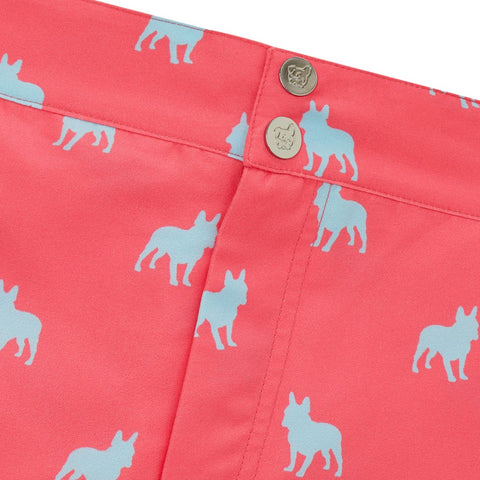 Tailored French Bulldog men's swim shorts trunks swimwear