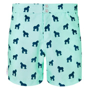 Mint Navy Gorilla swim shorts trunks mens swimwear