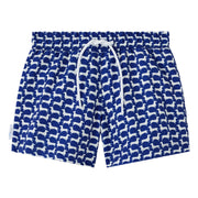 Dachshund print boys Swim shorts trunks kids swimwear
