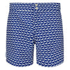 Tailored Dachshund small print men's swim shorts trunks swimwear