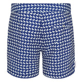 Tailored French Bulldog small print men's swim shorts trunks swimwear