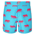Blue tailored tiger men's swim shorts trunks swimwear