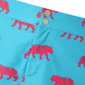 Blue tailored tiger mens swim shorts trunks swimwear