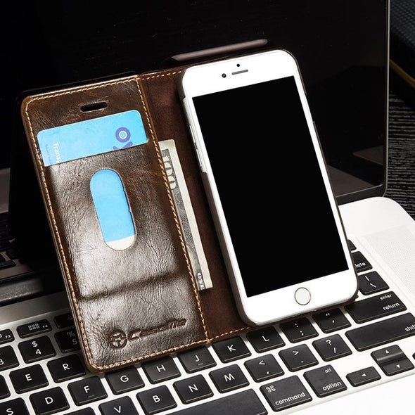 Lux Leather Phone Case & Wallet