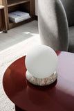Rest Lamp - Agatae Red Marble