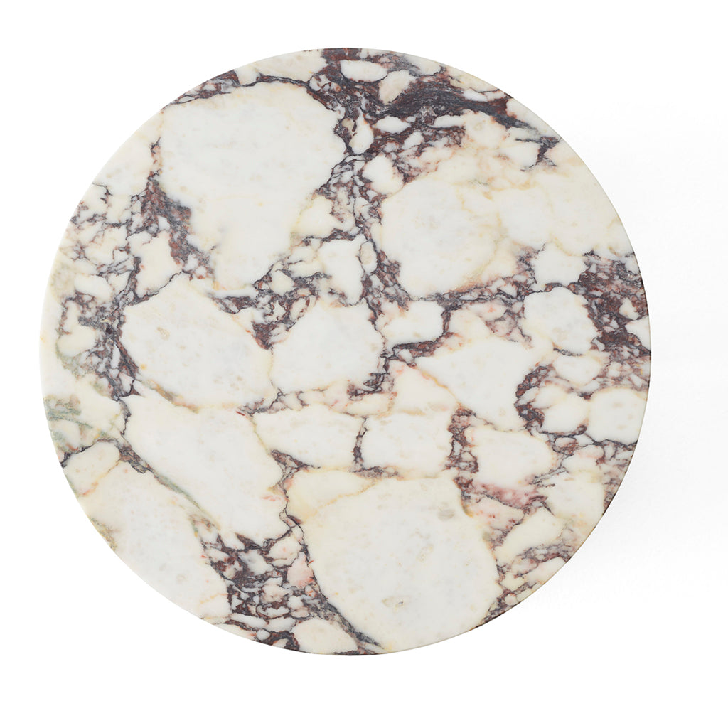 Androgyne Side Table Top - Calacatta viola marble