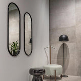 Angui Mirror Anthracite Large