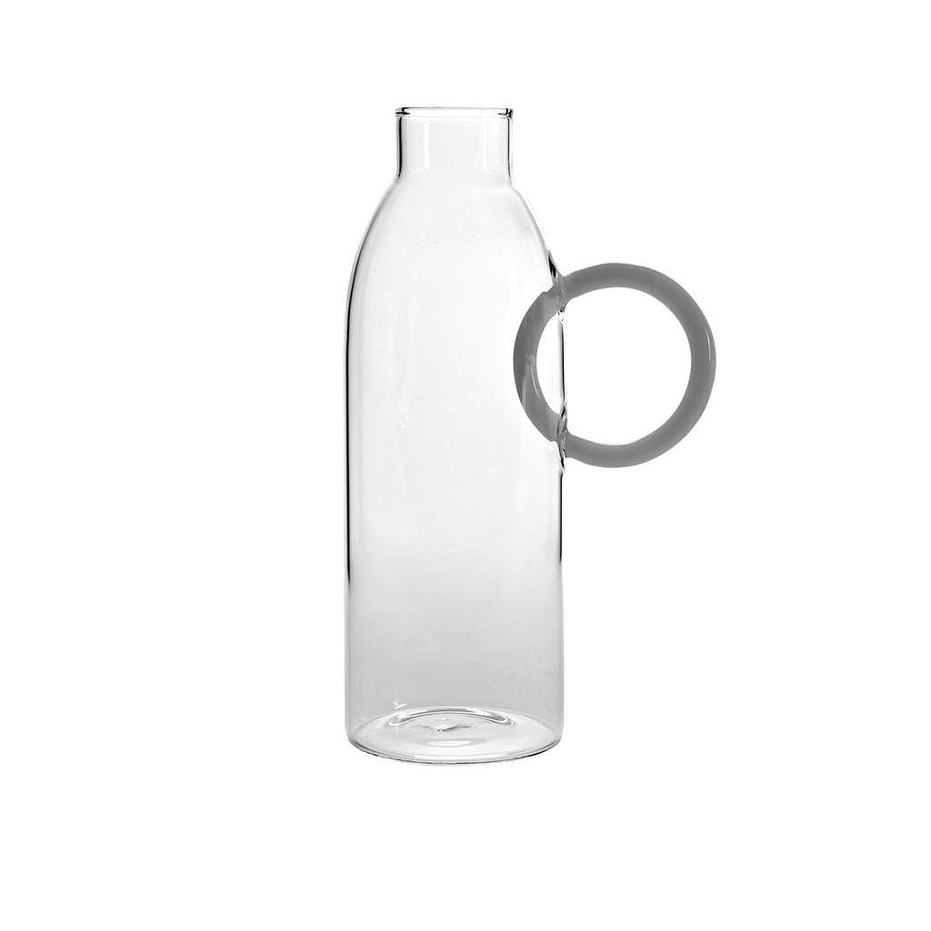 Bottle Circle Lever White