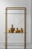 Florence Shelf - Large, Gold