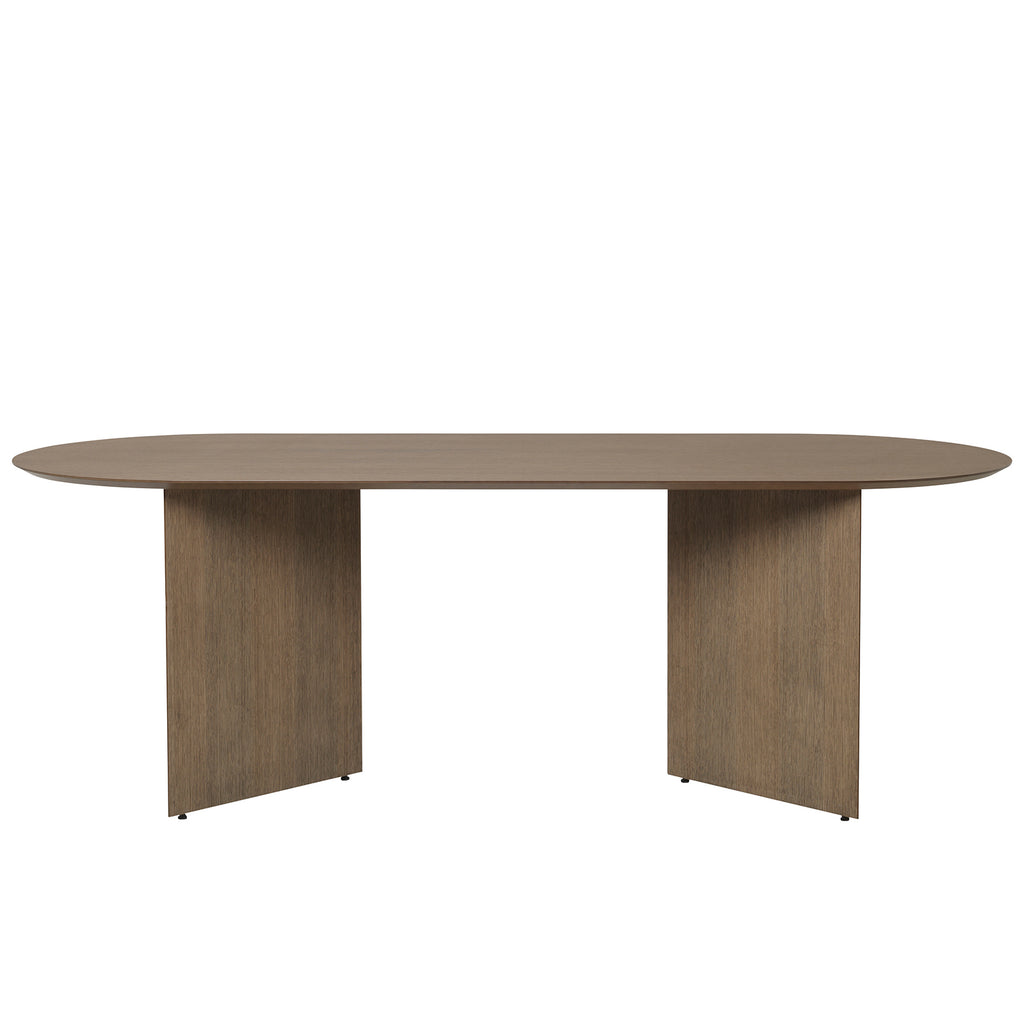 Mingle Table Oval 220 Veneer Dark