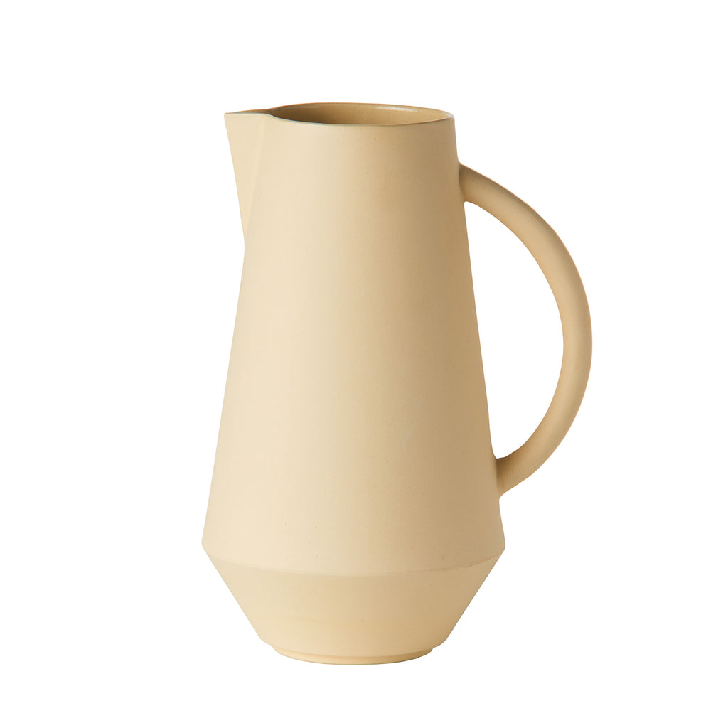 Unison Ceramic Carafe - yellow