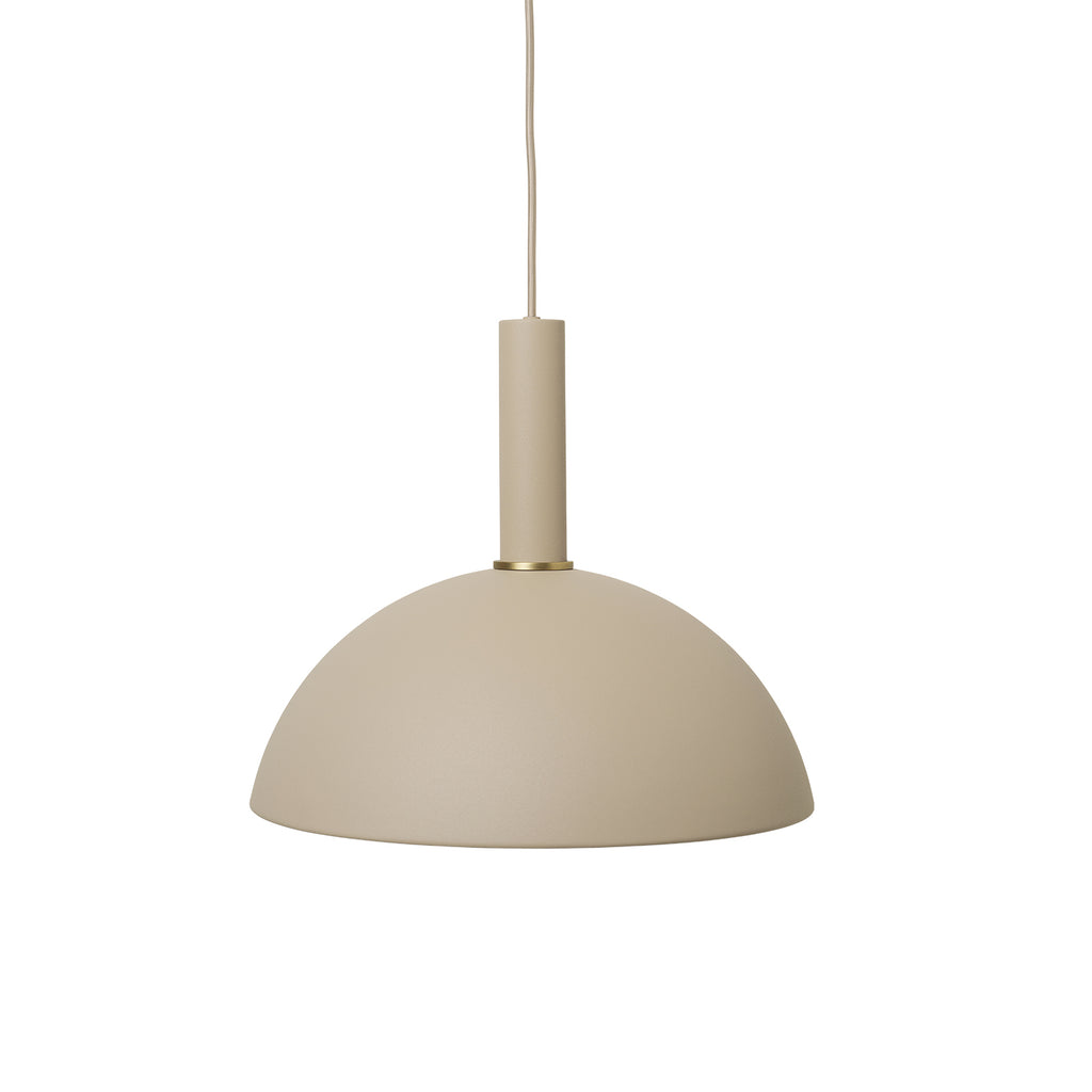 Dome Shade High Socket - Cashmere