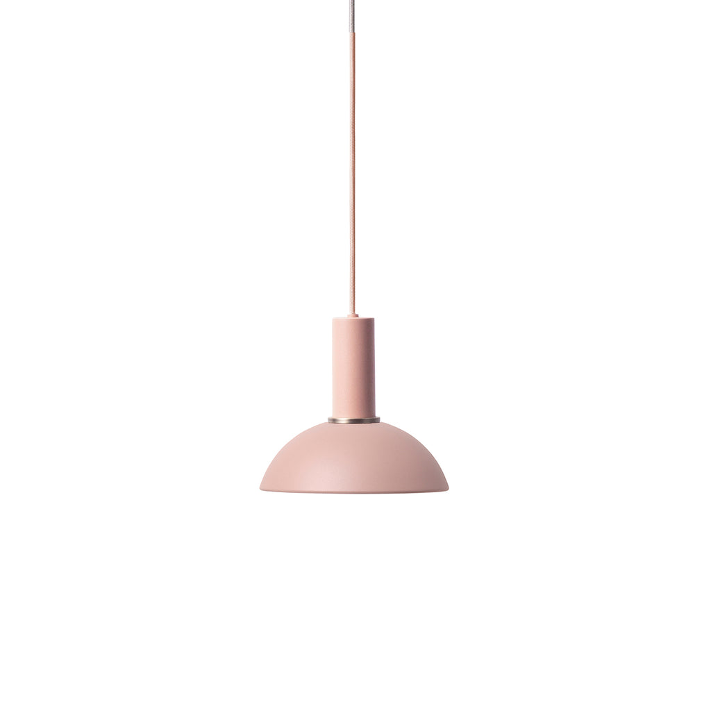 Hoop Shade Low Socket - Rose