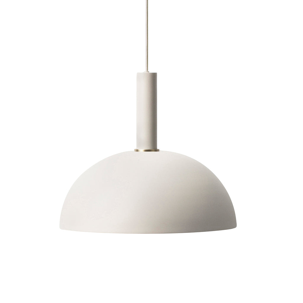Dome Shade High Socket - Light Grey