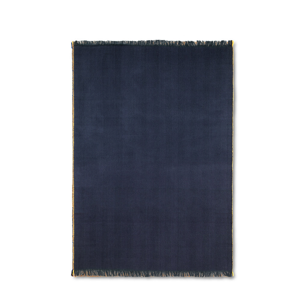 Herringbone Blanket - Dark Blue
