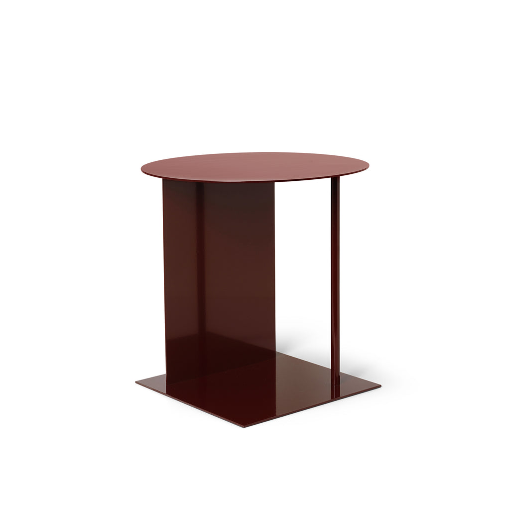 Place Side Table - Red Brown