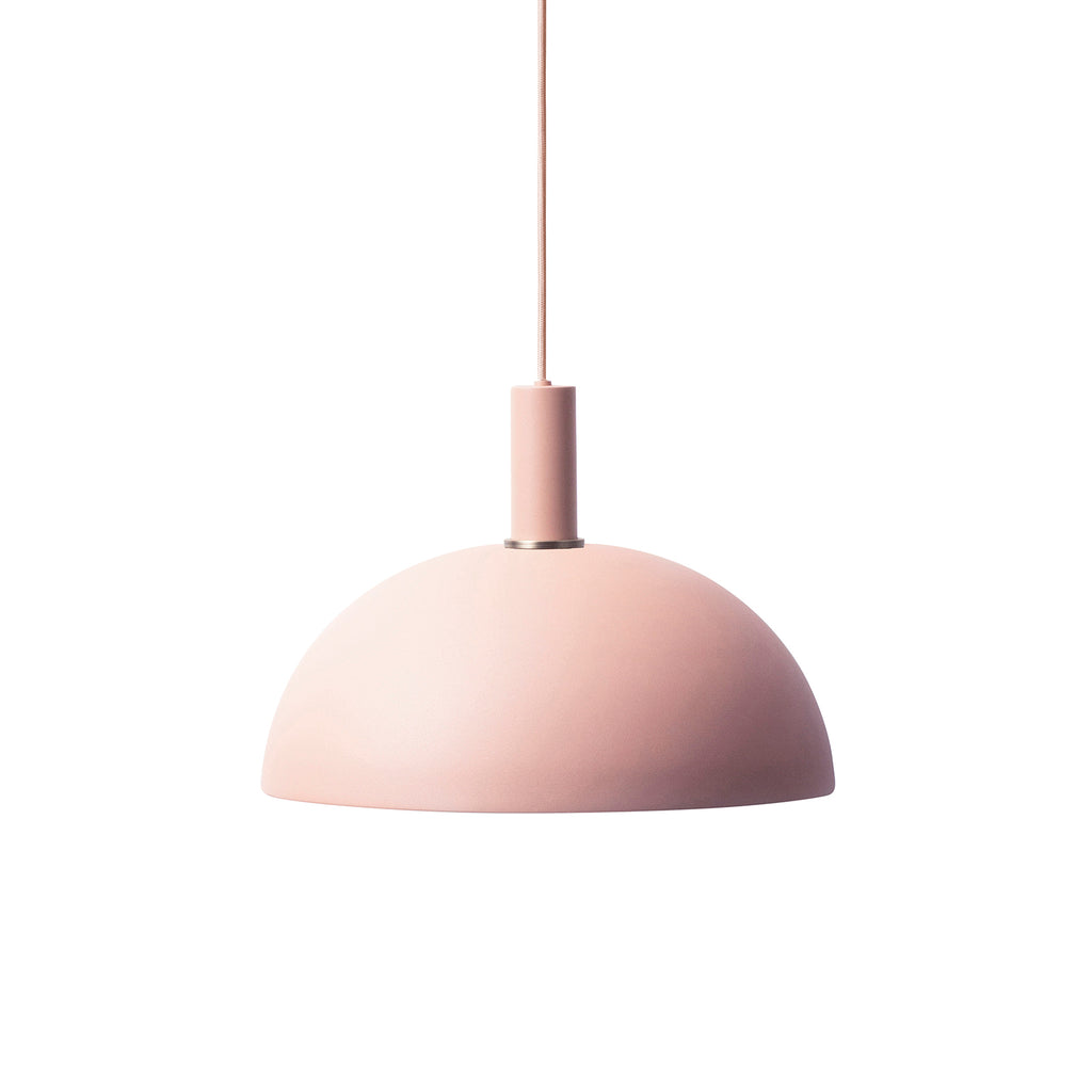 Dome Shade Low Socket - Rose