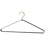 Vestis Hanger Black/Brass - Set of 2