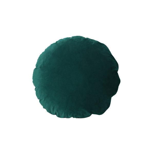 Round Cushion Dark Green