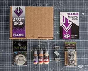 Villains: The Miscreation Box, Feb 2020
