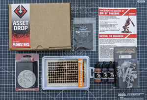 Monsters: The Kin of Dragons Box, Jan 2019