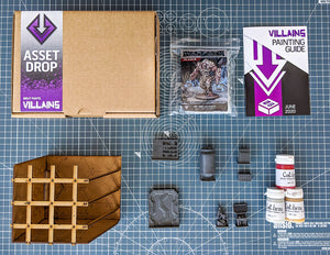 Villains: The Secret Lab Box, June 2020
