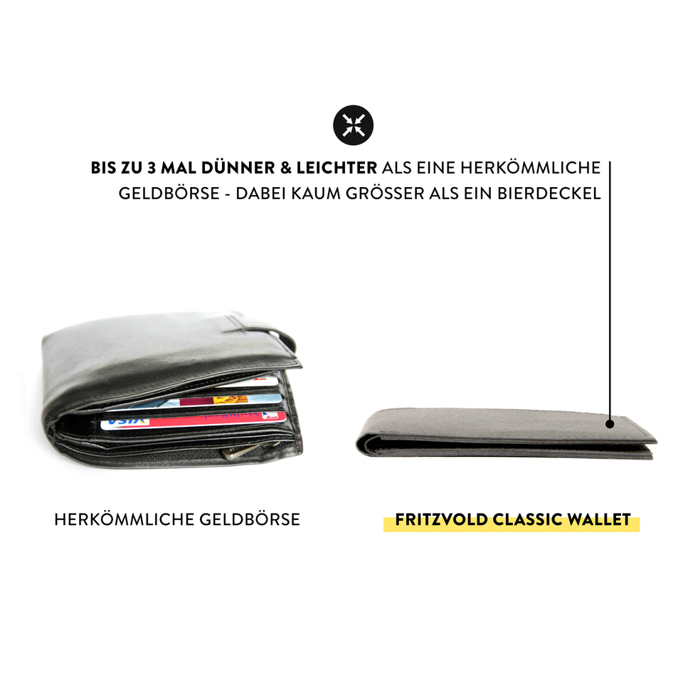 CLASSIC WALLET + RFID