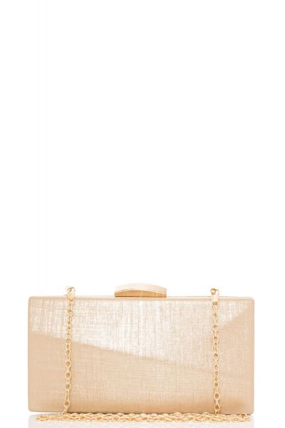 Gold Shimmer Box Bag